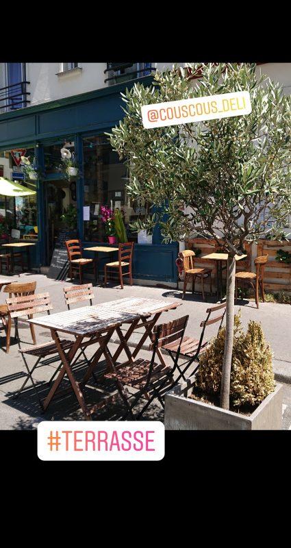 Couscous Deli--Terrasse